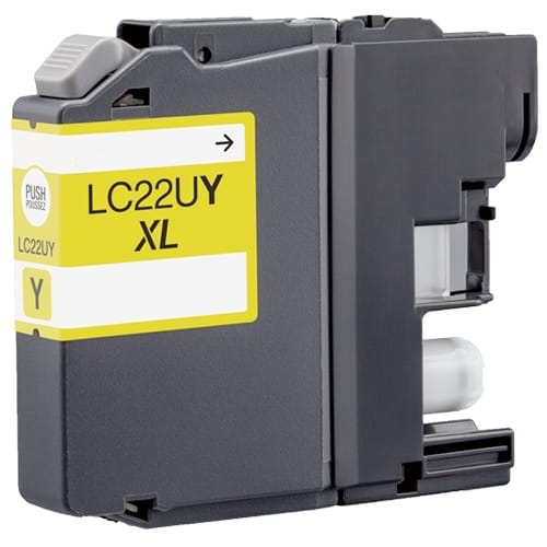 Iberjet BLC22UY Cartucho de tinta amarillo, reemplaza a Brother LC22UY