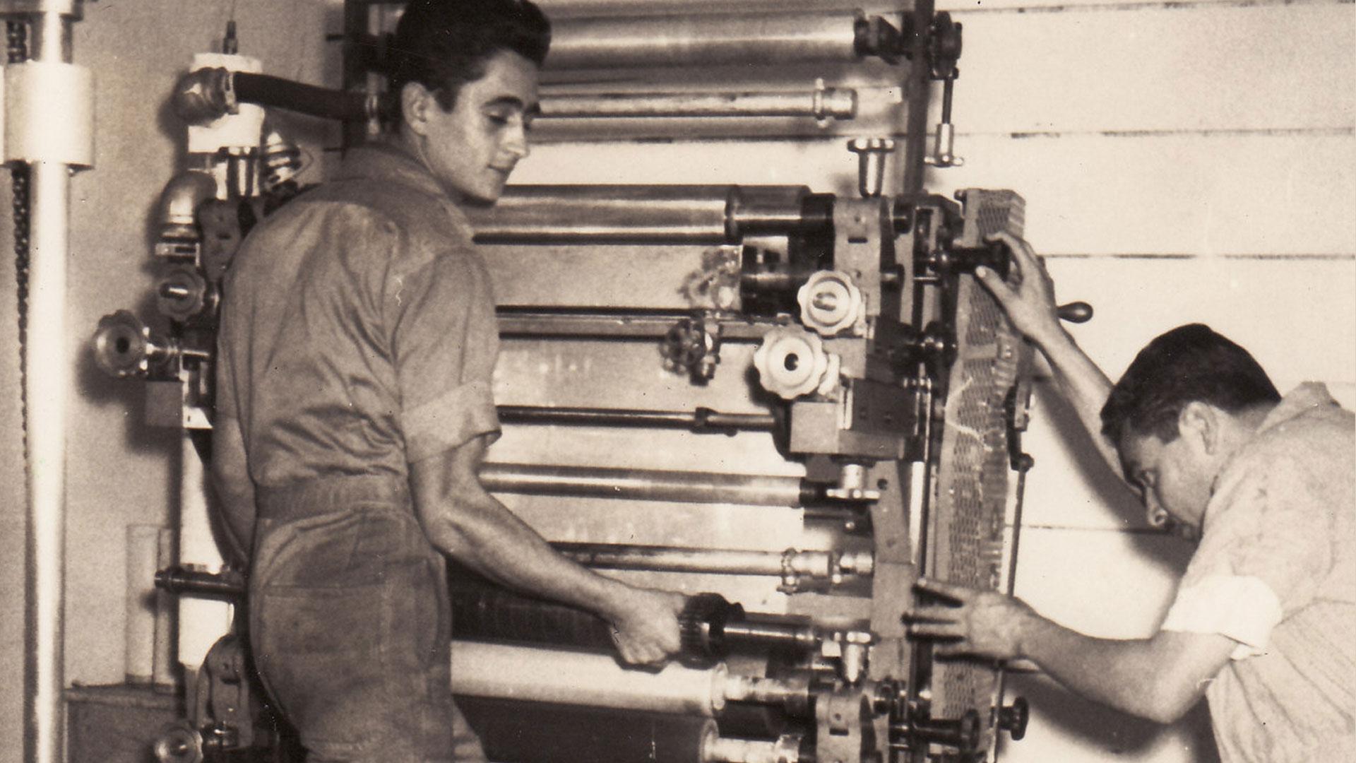 Las primeras impresoras de la historia