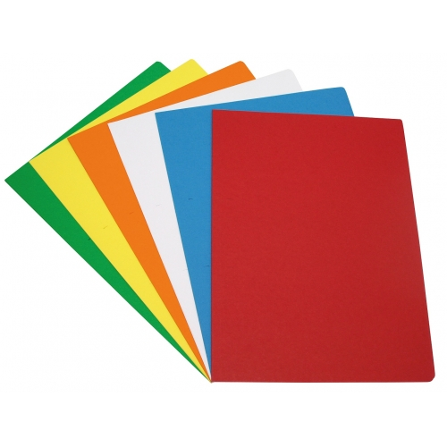 GRAFOPLAS 00175099. Pack 250 subcarpetas folio de 180 gr. Colores vivos surtidos