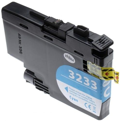 Iberjet BLC3233C Cartucho de tinta cian, reemplaza a Brother LC3233C