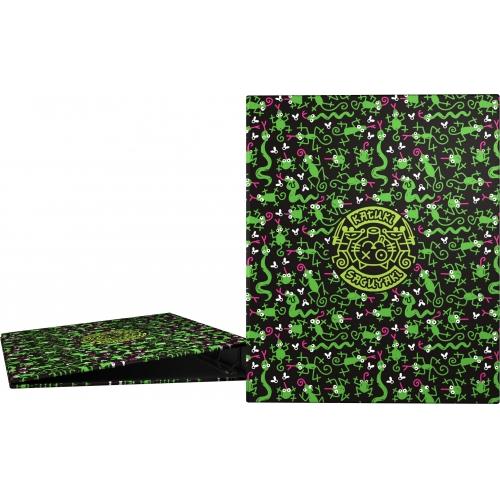 GRAFOPLAS 88141978. Pack 2 carpetas de anillas 25 mm. A4 Katuki Saguyaki Lenguas