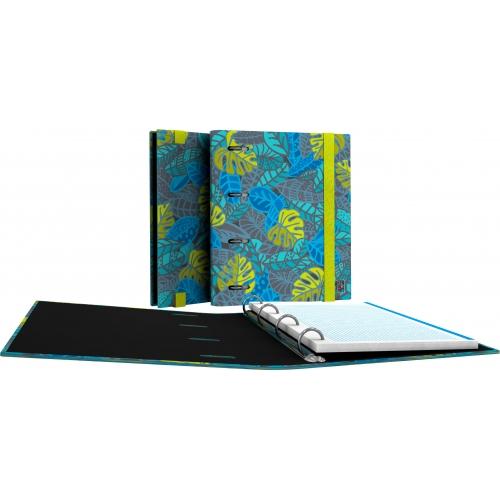 GRAFOPLAS 88111964. Pack 2 CarpeBook A5 Diverse Leafs
