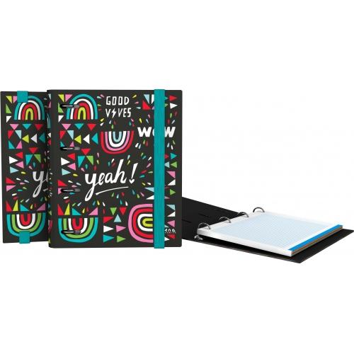 GRAFOPLAS 88111968. Pack 2 CarpeBook con goma A5 Elena Corredoira Wow