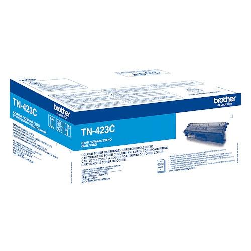 BROTHER TN423C Cartucho de tóner original cian - TN-423C