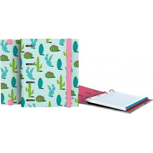 GRAFOPLAS 88111969. Pack 2 CarpeBook con goma A5 Elena Corredoira Mint