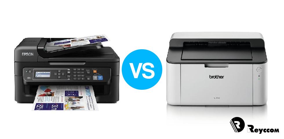 ¿Láser o tinta? Qué tipo de impresora y consumible elegir