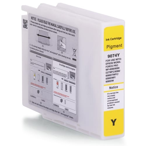 Iberjet ET9074-Y Cartucho de tinta amarillo, reemplaza a Epson C13T907440
