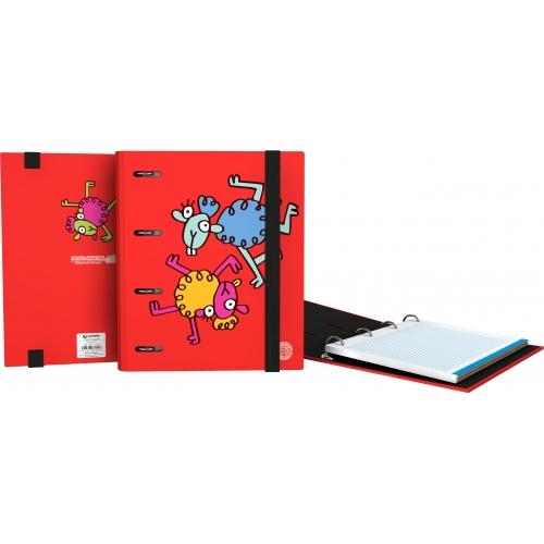 GRAFOPLAS 88111979. Pack 2 CarpeBook con goma A5 Katuki Saguyaki Lana