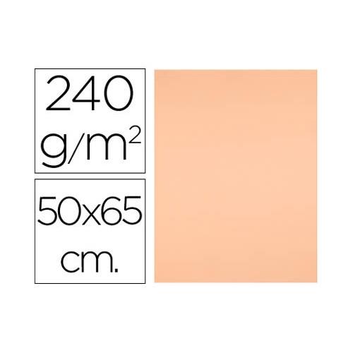 Cartulinas Liderpapel color sepia de 50x65 cm - 240 g/m2.