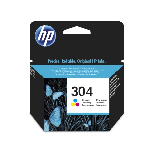 HP 304 Cartucho de tinta original tricolor - N9K05AE