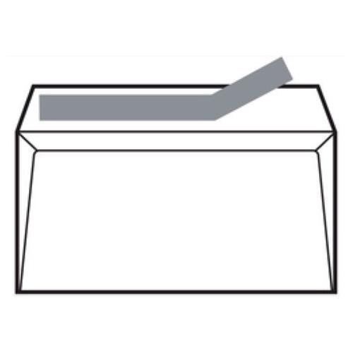 Kores 20221070. Caja 250 sobres blancos 100 gr. Tira siliconada (260x360 mm.)