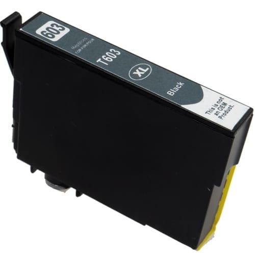 Iberjet ET603XLBK Cartucho de tinta negro, reemplaza a Epson C13T03A14010