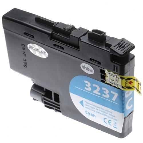 Iberjet BLC3237C Cartucho de tinta cian, reemplaza a Brother LC3237C