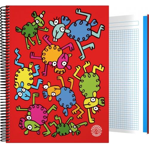 GRAFOPLAS 16501979. Cuaderno tapa dura A4 Katuki Saguyaki Lana
