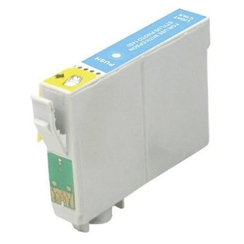 Iberjet ET0965 Cartucho de tinta cian foto, reemplaza a Epson C13T09654010