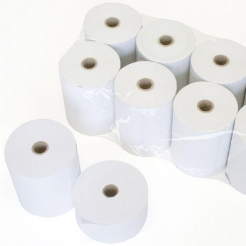 KORES 66682000. Pack 10 rollos de papel autocopiativo de 75 x 65 x 12 mm.