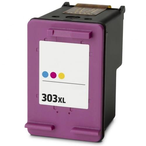 Iberjet H303XL-C Cartucho de tinta 3 colores, reemplaza a HP T6N03AE nº 303XL / T6N01AE nº 303
