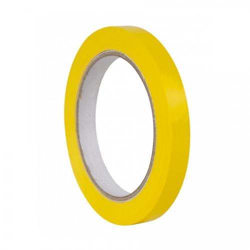 APLI 17000. Pack 12 rollos de cinta adhesiva amarilla de 12 mm x 66 m