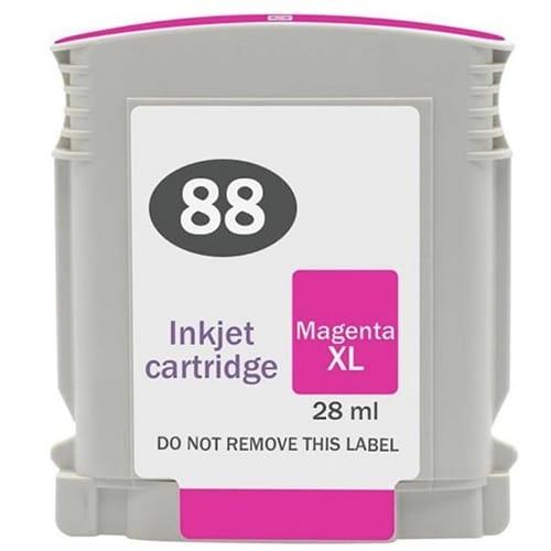 Iberjet H88XL-M Cartucho de tinta magenta, reemplaza a HP C9392AE nº 88XL M