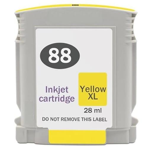 Iberjet H88XL-Y Cartucho de tinta amarillo, reemplaza a HP C9393AE nº 88XL Y
