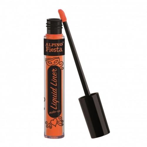 ALPINO DL000203. Caja 4 tubos de maquillaje Liquid Liner naranja