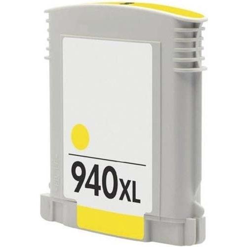 Iberjet H940XL-Y Cartucho de tinta amarillo, reemplaza a HP C4909AE nº 940XL