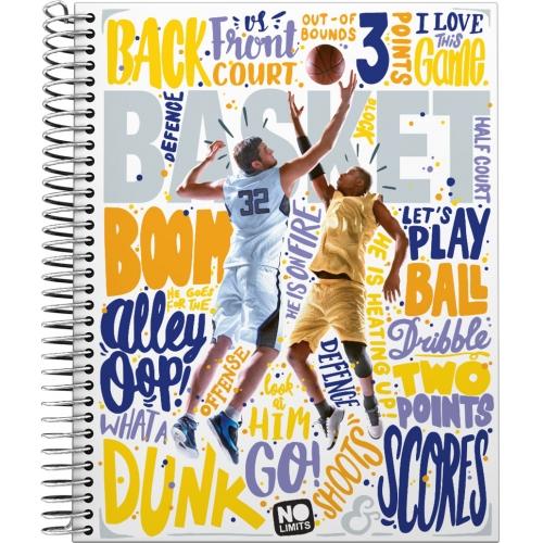 GRAFOPLAS 16511921. Cuaderno tapa dura A5 No Limits Basket