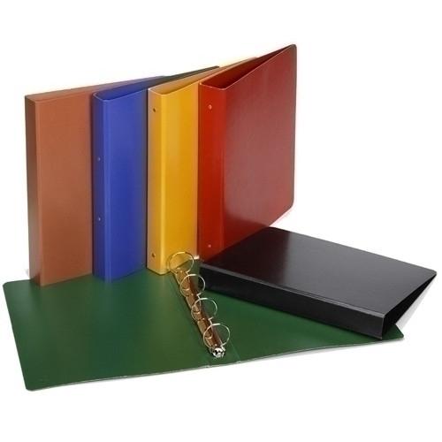 CARCHIVO 1204BC. Carpeta de anillas cartón pintado brillo 4º, 2 anillas 40 mm. Colores