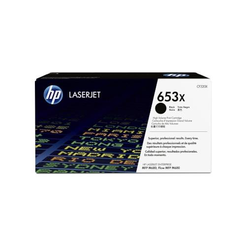 HP 653X Cartucho de tóner original negro - CF320X