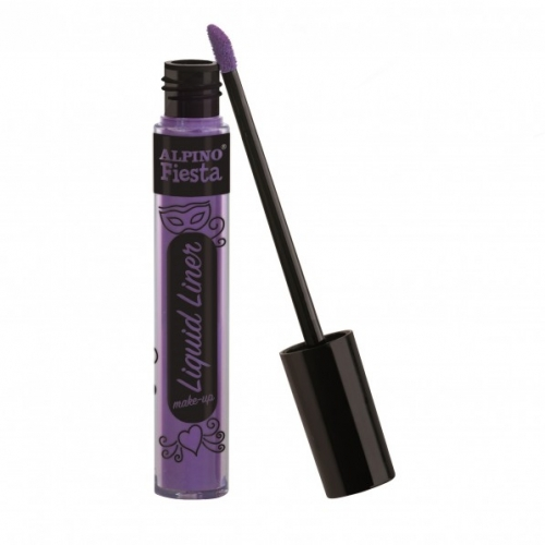 ALPINO DL000206. Caja 4 tubos de maquillaje Liquid Liner violeta