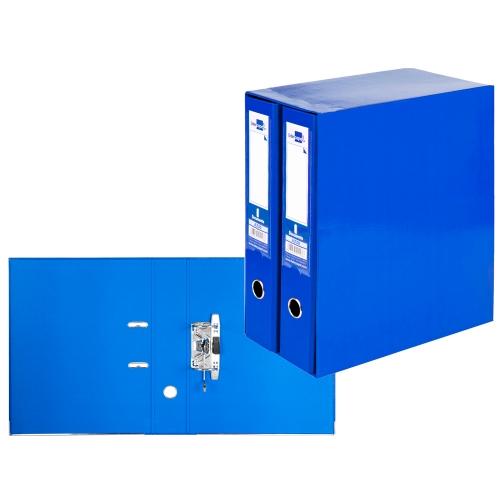 Liderpapel MD48. Módulo azul 2 archivadores folio 2 anillas 75 mm
