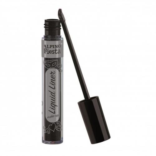 ALPINO DL000210. Caja 4 tubos de maquillaje Liquid Liner negro