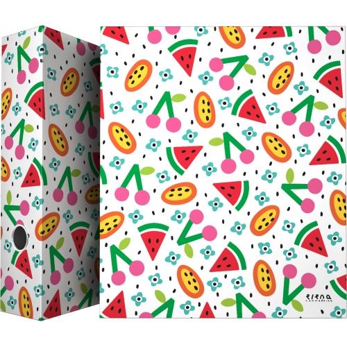 GRAFOPLAS 88171970. Pack 2 carpetas de anillas 40 mm. A4 Elena Corredoira Frutas
