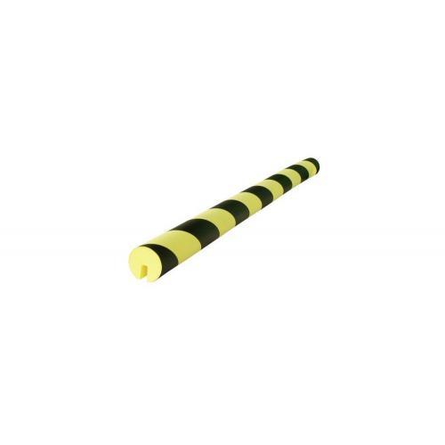 VISO Protector de esquina amarillo/negro (750 x 40 x 8 mm.) - PU208NJ