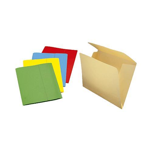 GIO Subcarpetas Caja 50 ud - A4 Cartulina 3 solapas Verde - 400018765