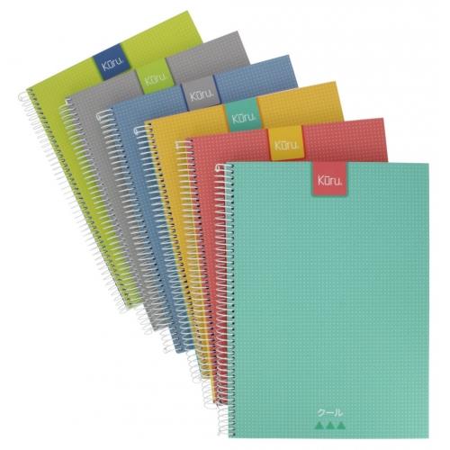 GRAFOPLAS 88525130. Cuaderno tapa dura A4 Kuru azul