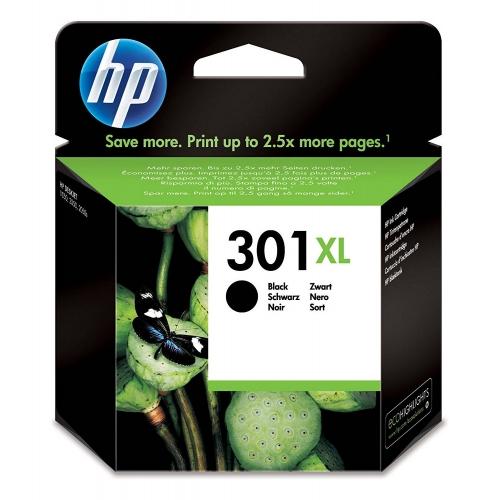 HP 301XL - Cartucho Inyección Nº 301XL Negro - CH563EE