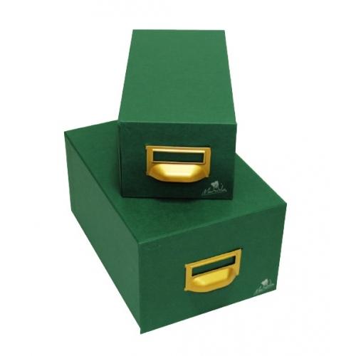 Mariola 4-500. Fichero de cartón geltex para 500 fichas de 125 x 200 mm