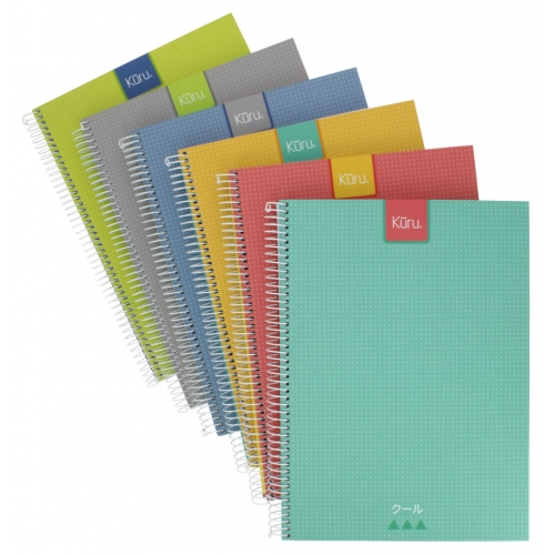 GRAFOPLAS 88525171. Cuaderno tapa dura A4 Kuru gris