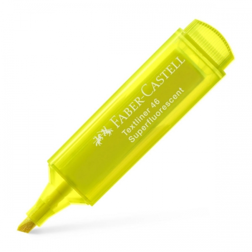 FABER CASTELL Textliner 46. Marcador fluorescente punta biselada colores