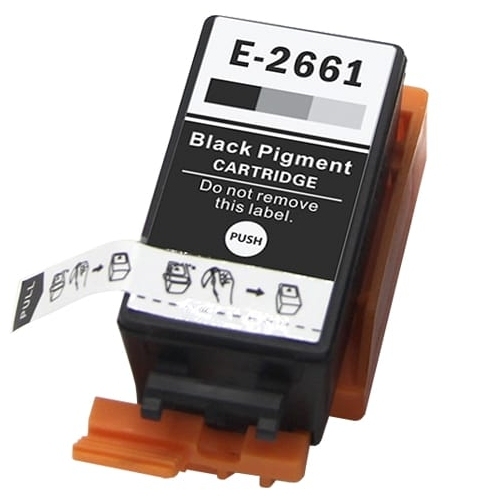 Iberjet E-2661 Cartucho de tinta negro, reemplaza a Epson C13T26614010