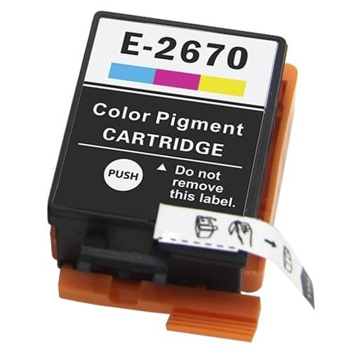 Iberjet E-2670 Cartucho de tinta 3 colores, reemplaza a Epson C13T26704010