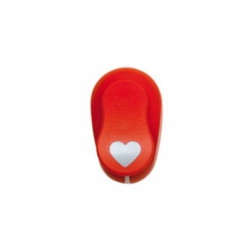 GRAFOPLAS 00064251. Perforadora para Goma EVA de 3.8 cm. Forma corazón