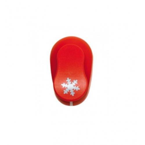 GRAFOPLAS 00064551. Perforadora para Goma EVA de 3.8 cm. Forma copo de nieve