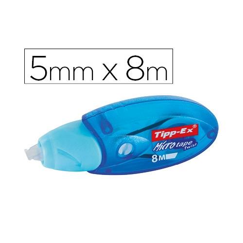 Tipp-Ex 8706142 Corrector cinta micro tape twist 5mm x 8m.