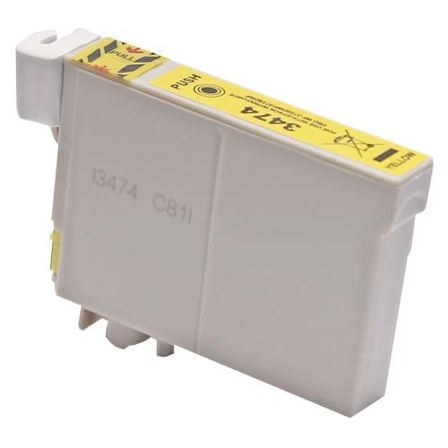 Iberjet E-3474 Cartucho de tinta amarillo, reemplaza a Epson C13T34744010 nº 34XL / C13T34644010 nº 34