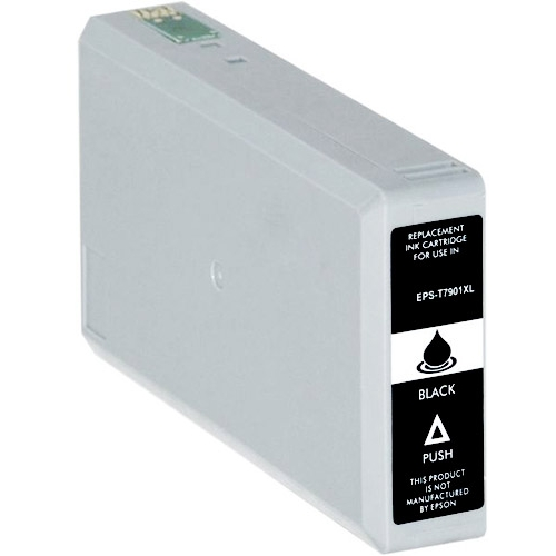 Iberjet EPS-T7901 Cartucho de tinta negro, reemplaza a Epson C13T79014010