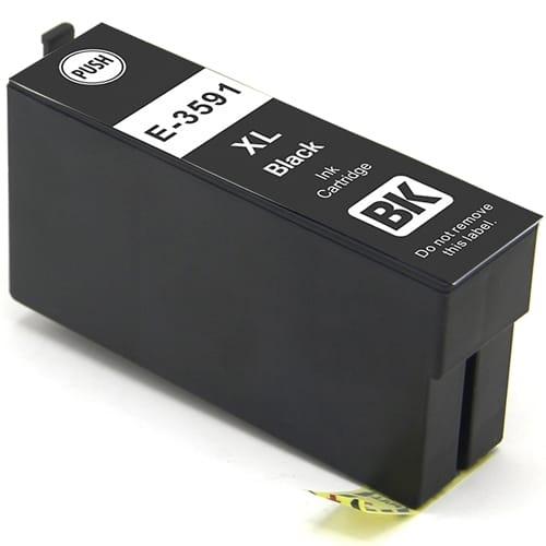 Iberjet E-3591 Cartucho de tinta negro, reemplaza a Epson C13T35914010 nº 35XL / C13T35814010 nº 35