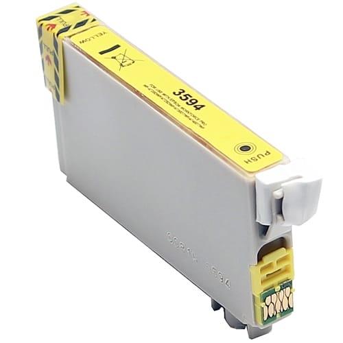 Iberjet E-3594 Cartucho de tinta amarillo, reemplaza a Epson C13T35944010 nº 35XL / C13T35844010 nº 35