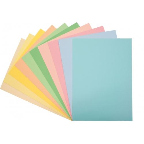 GRAFOPLAS 65009260. Papel multifunción 80 g. A4, 100 hojas. Color amarillo claro pastel